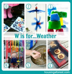 W is for...Weather