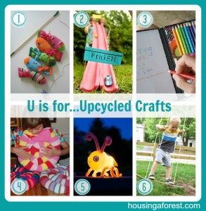 U is for...Upcycle