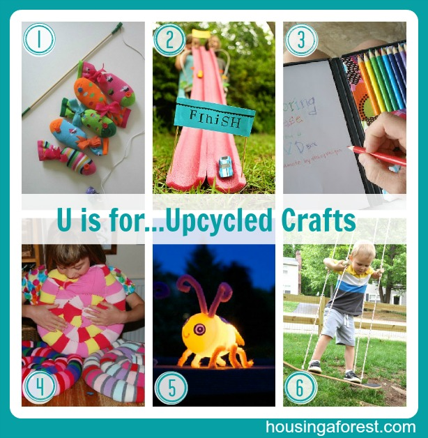 the abc's of crafting on a budget – letters u-z | housing a forest