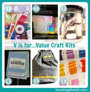 V is for...Value Craft Kits
