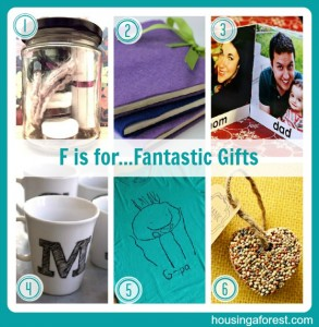 F is for...Fantastic DIY Gifts