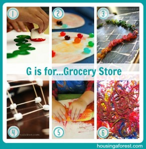 G is for...Grocery Store
