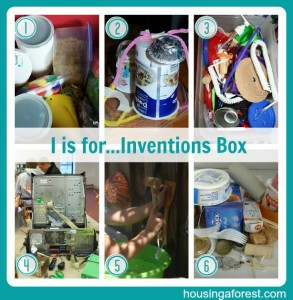 I is for...Inventions Box