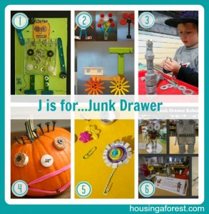 J is for...Junk Drawer