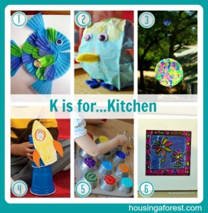 K is for...Kitchen