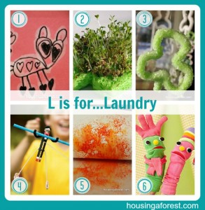 L is for...Laundry