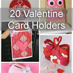20 Valentines Card Holders
