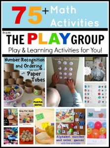 Math Activities from the PLAY group