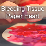 Bleeding Tissue Paper