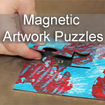 Magnetic Artwork Puzzles