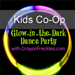 Glow-In-The-Dark Dance Party ~Kids Co-op