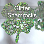 Glitter Shamrock