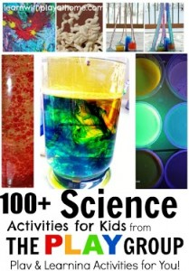 Science Activities from The PLAY Group