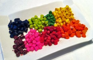 Molded Crayons