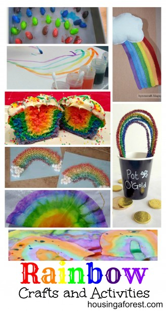Rainbow Crafts and Activities