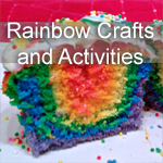 Rainbow Crafts and Activities ~ Weekly Kids Co-op