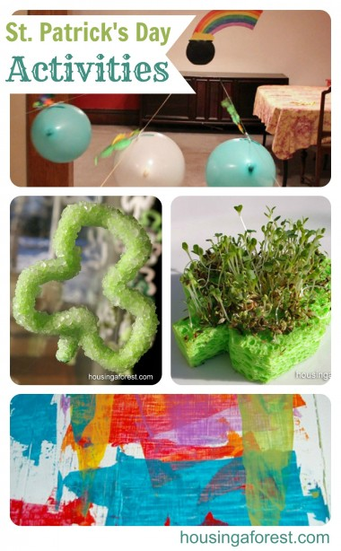 St Patricks Day Activities ~ lots of fun ideas your kids will love