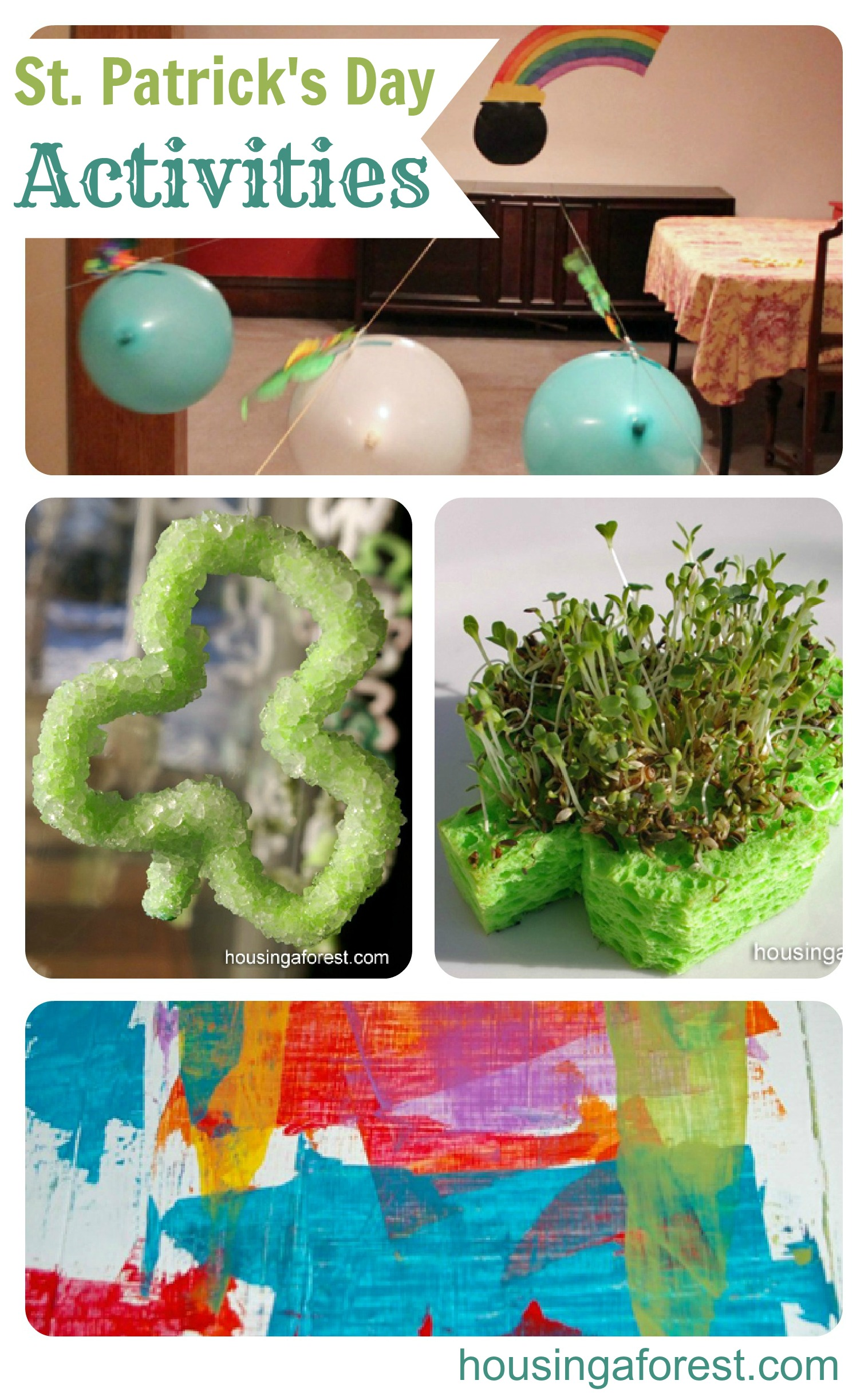 St Patrick's Day Activities from The Kids Co-op