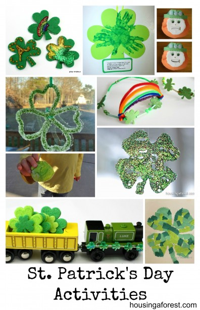 St. Partick's Day Activities
