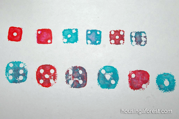 Stamping with Dice