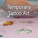 Temporary Tattoo Art