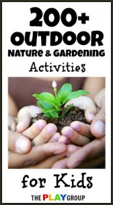 nature and gardening activities