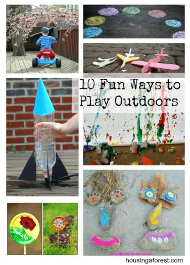 10 Fun Ways to Play Outdoors