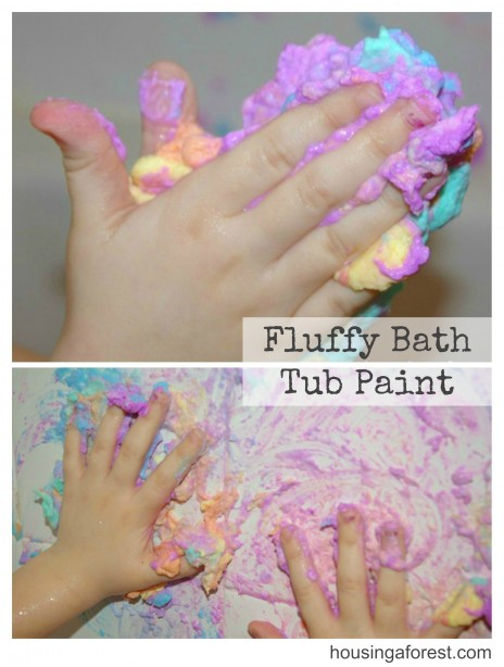 Fluffy Bath Tub Paint