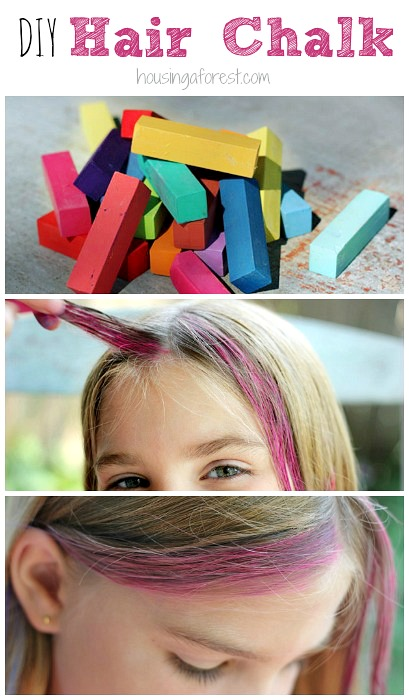 How to Chalk Hair – Housing a Forest