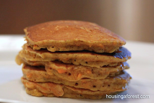 Carrot Cake Pancake Recipe