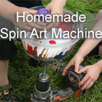 Homemade Spin Art Machine