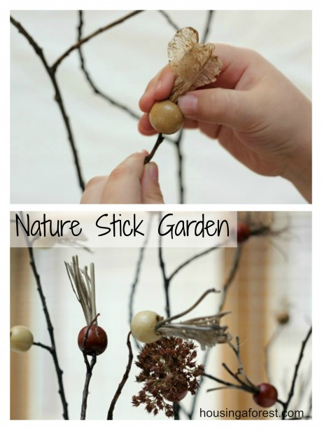 Nature Stick Garden