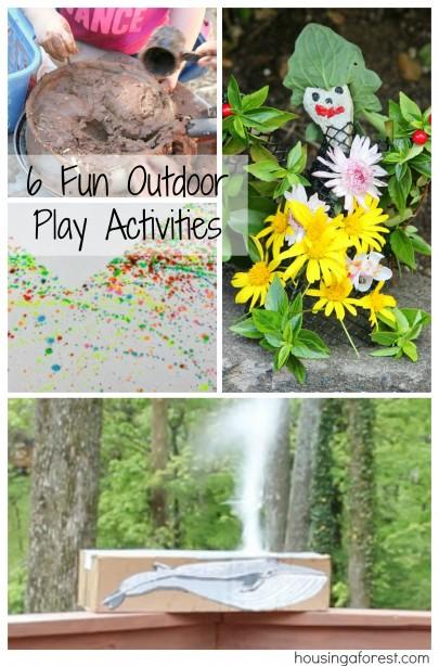 6 Fun Outdoor Play Activities
