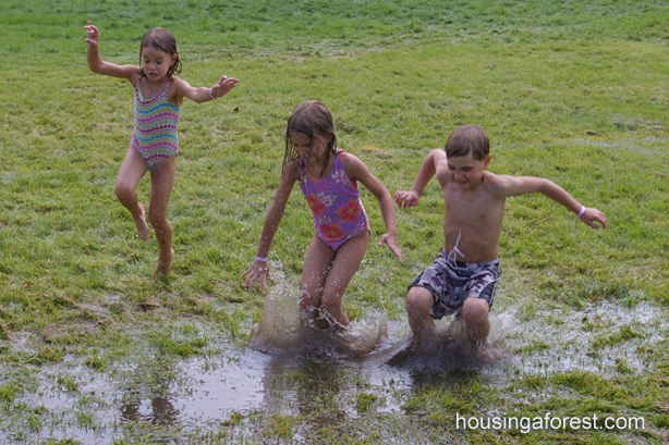 Wet and Wild Days