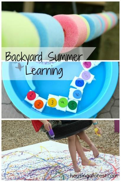Backyard Summer Learning
