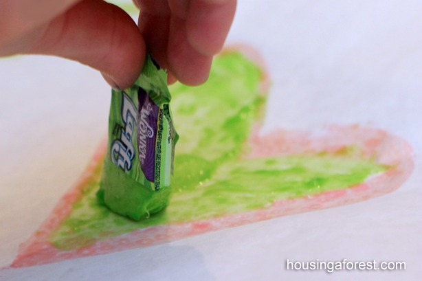 Drawing with Laffy Taffy