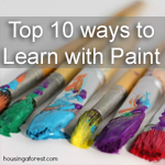 Top 10 Ways to Learn with Paint