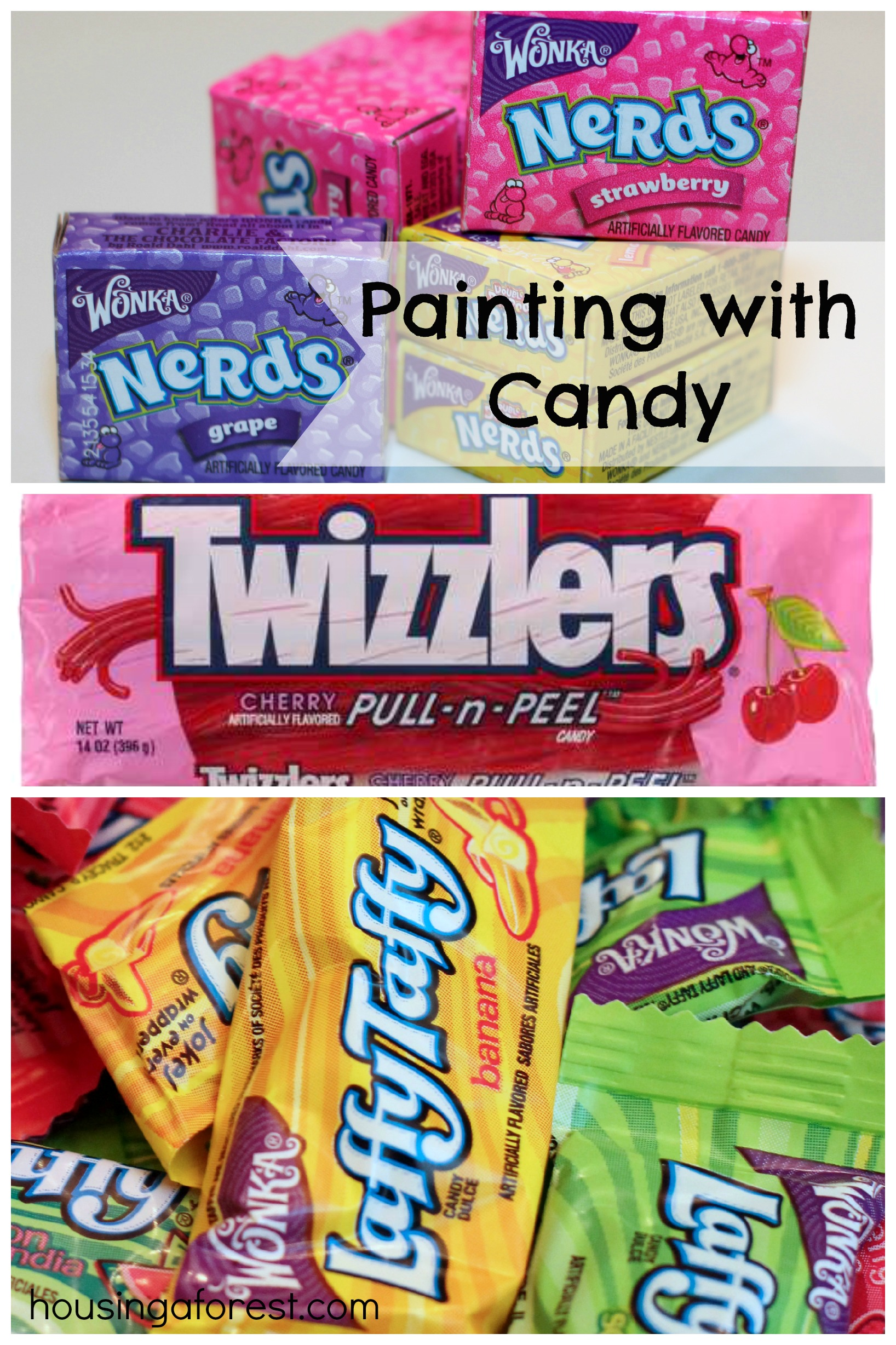 Painting with Candy
