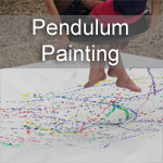 Tire Swing Pendulum Painting