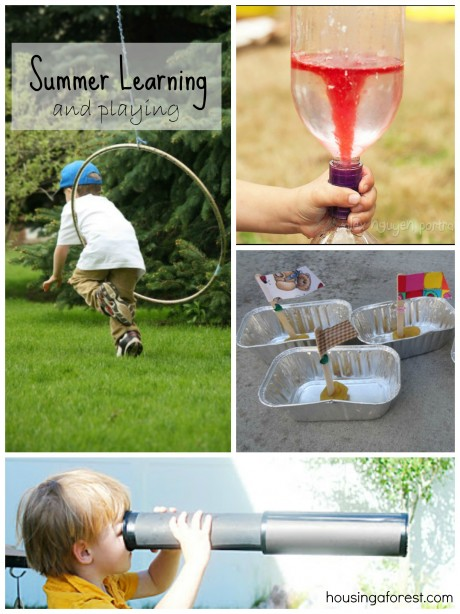 Summer Learning and Playing