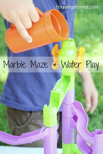 Marble Maze and Water Play