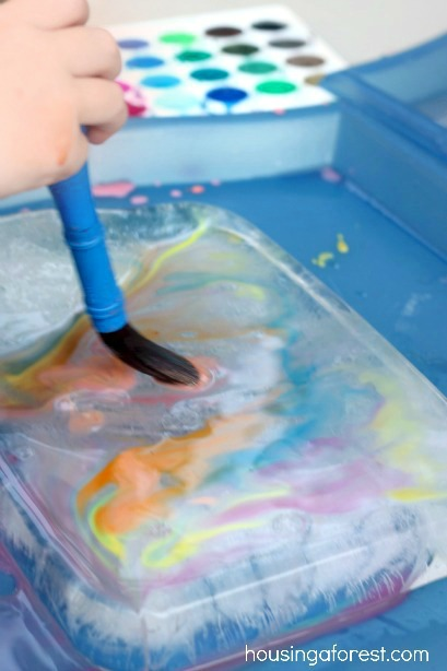 Painting On Ice ~ Perfect for Summer