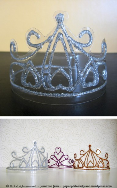 Simple DIY Crown ~ Recycled Plastic Crown Tutorial