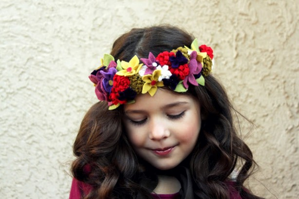 Simple DIY Crown ~ Fairy Flower Crown Tutorial