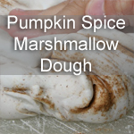 Pumpkin Spice Marshmallow Dough