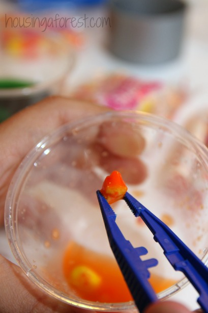 Candy Potions ~ Invitation to play with Halloween Candy