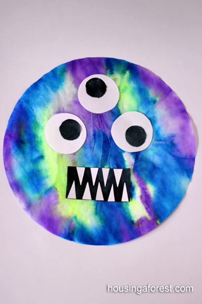 Monster Marker Prints ~ Coffee Filters and marker Art
