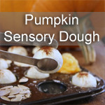 Pumpkin Sensory Dough