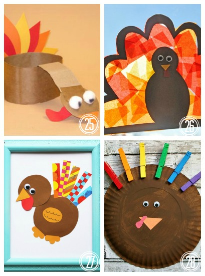 40 turkey crafts for thanksgiving housing a forest for Turkey country arts and crafts