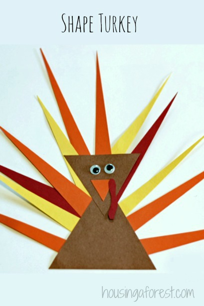 Toddler Shape Turkey